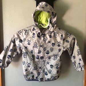Skeleton Rain Coat